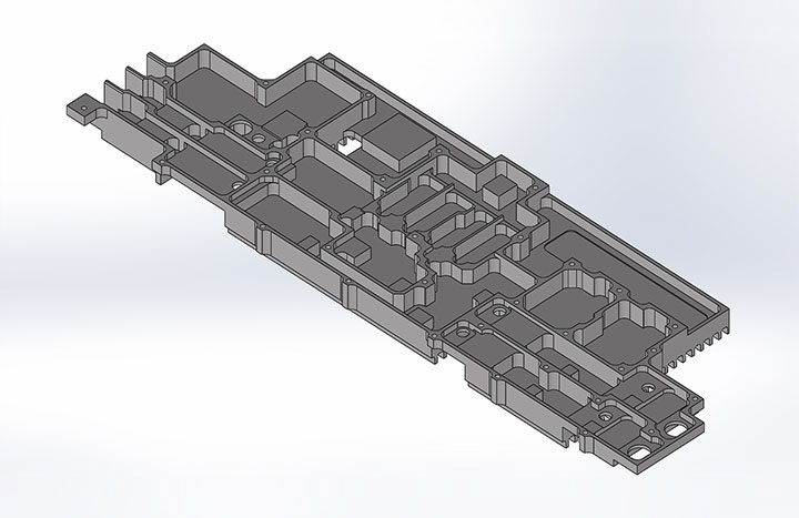3D Modelling of original CAD drawing