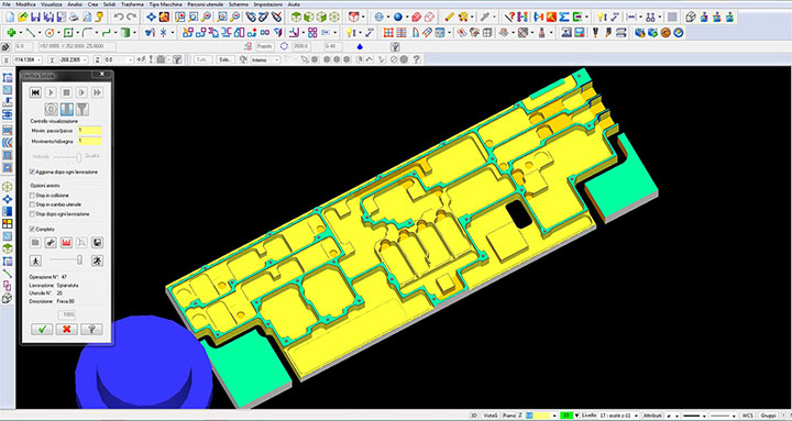 CNC programming and modelling