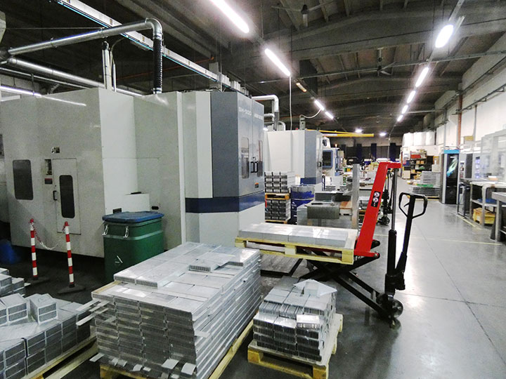 CN machining department
